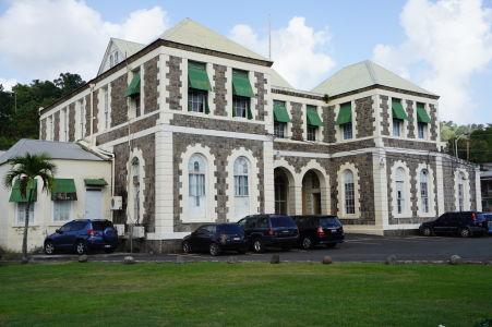 Budova magistrátneho súdu v Kingstowne