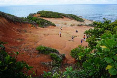 Red Rocks - Červené skaly na Dominike