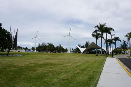 Distilérka rumu Bacardi na Portoriku - Jediná na svete, ktorá využíva veternú energiu