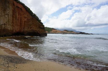 Pláž na Pointe Baptiste