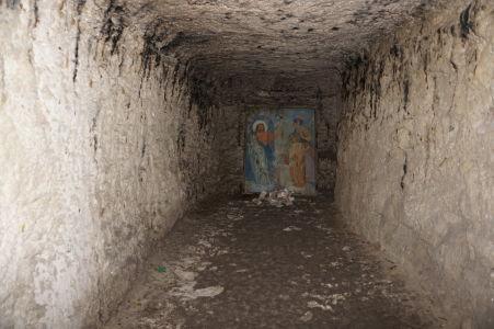 Kláštor v Starom Orhei vyhĺbený v skale - Ikona pre milodary