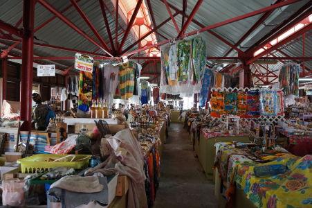 Tržnica v St. George's na Grenade