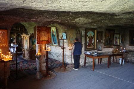 Kláštor v Starom Orhei - Svätyňa