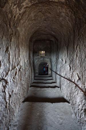 Kláštor v Starom Orhei - Vstupná chodba do kláštora