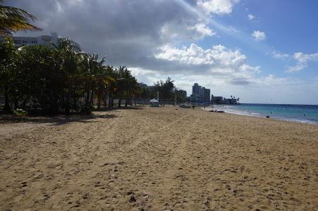 Pláž Isla Verde v San Juane