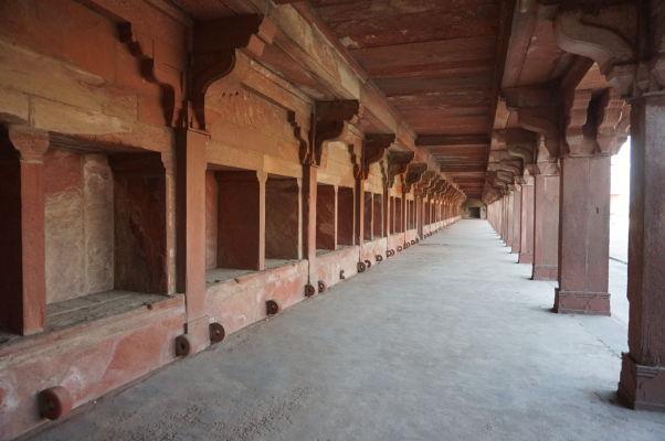 Kráľovské stajne vo Fatehpur Sikri