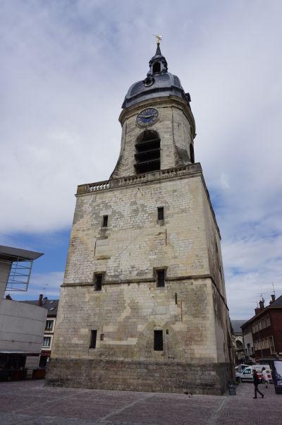 Zvonica v Amiens. pamiatka UNESCO zo stredoveku