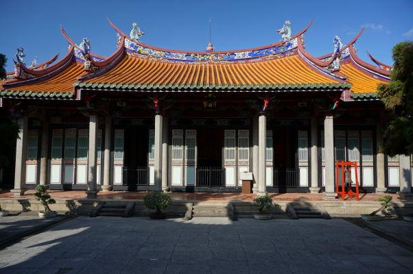 Svätyňa v areáli Konfuciovho chrámu v Tchaj-peji