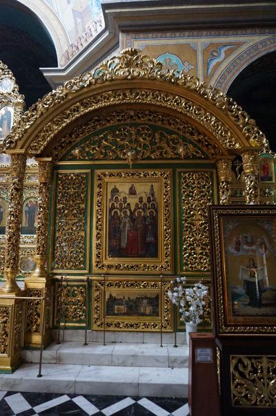 Kišiňovská katedrála - ako sa na ortodoxný chrám patrí, zlatom sa nešetrilo