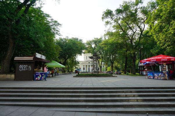 Kišiňovská katedrála - leží uprostred Katedrálneho parku