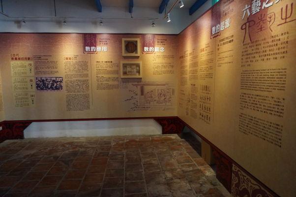 Interaktívne múzeum Konfuciovho chrámu v Tchaj-peji - informácie sú k dispozícii i v angličtine