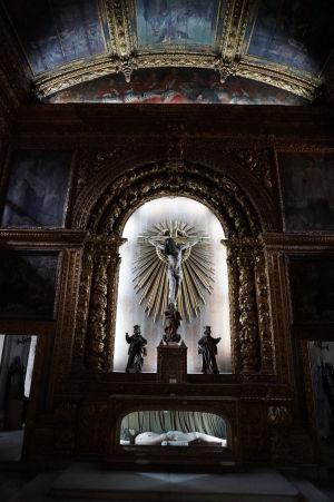 Zlatá kaplnka - hlavný oltár