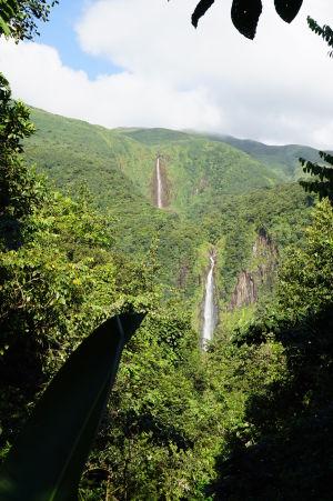 Vodopády Carbet