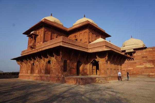 Birbalov dom - dom obľúbeného Akbarovho ministra vo Fatehpur Sikri