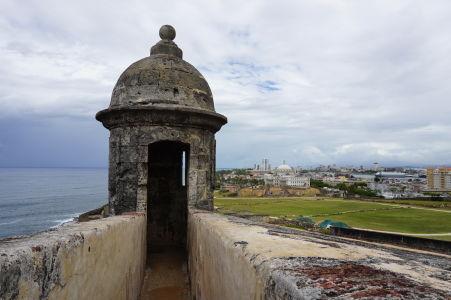 Strieľna v pevnosti San Cristóbal