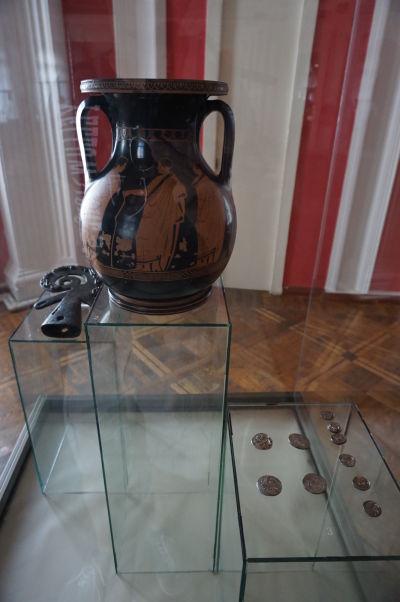 Národné múzeum histórie Moldavska - predmety z gréckych čias