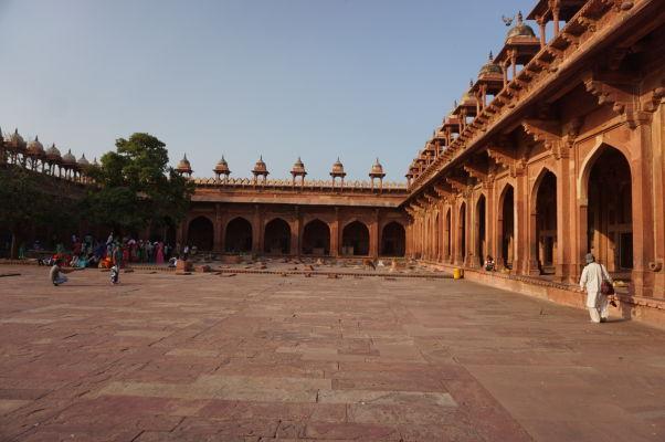 Piatková mešita (Jama Masjid) vo Fatehpur Sikri