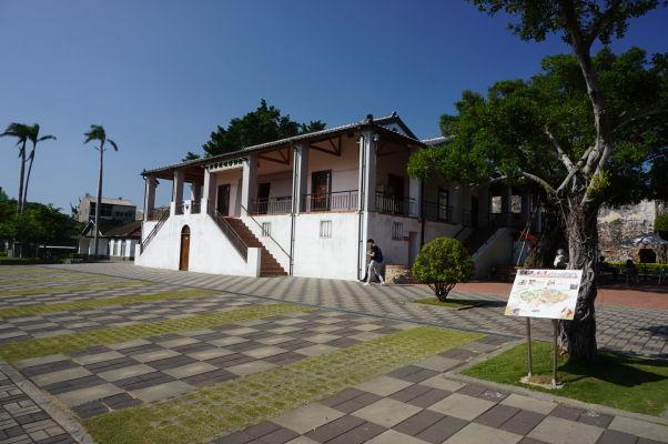 Pevnosť Fort Zeelandia v Tchaj-nane - múzeum histórie