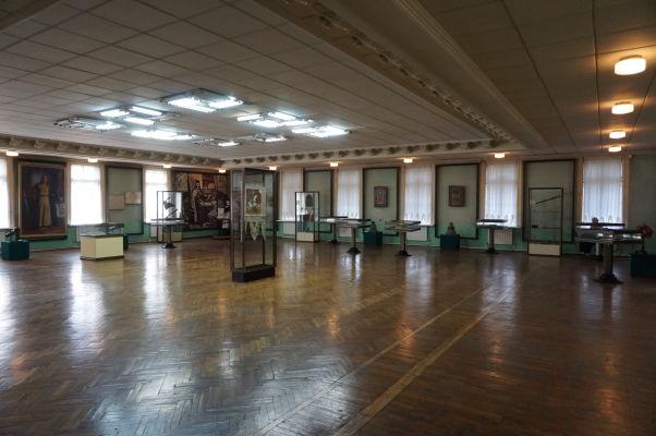 Národné múzeum histórie Moldavska - náboženská expozícia - priestory expozícií sú obrovské