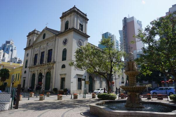 Katedrála Narodenia Panny Márie (Sé Catedral da Natividade de Nossa Senhora) v Macau