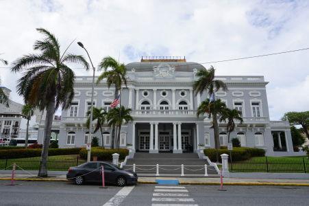 Budova Antiguo Casino, dnes miesto pre konanie rôznych eventov