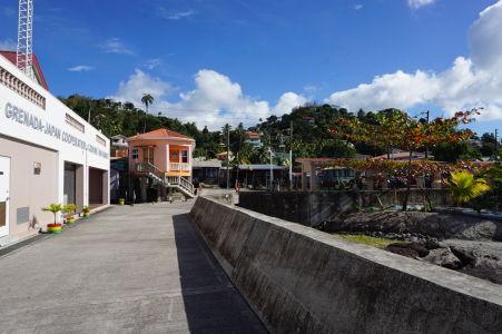 Prístavné mólo v Gouyave