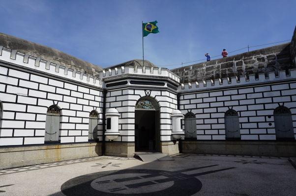 Pevnosť Copacabana v Riu de Janeiro