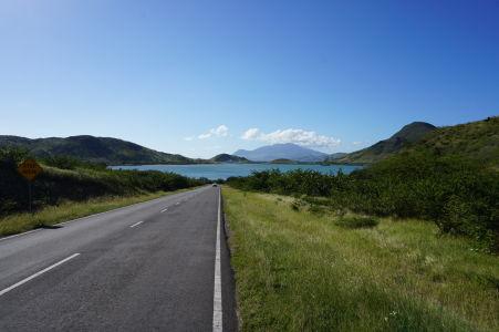 Cesta ku Great Salt Pond (Veľká soľná nádrž)