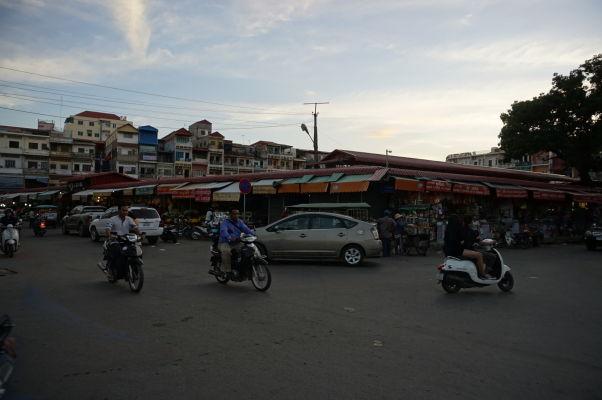 Starý trh (Old Market) v Phnom Penhu