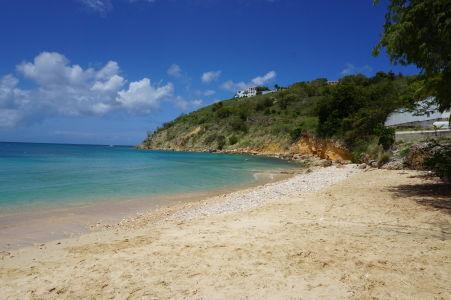 Pláž v zálive Crocus Bay