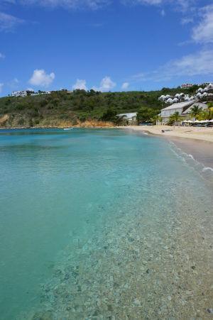Pláž v zálive Crocus Bay - Voda je úplne priezračná