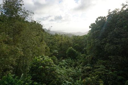 Prejazd horami stredom Grenady - Výhľad na okolie