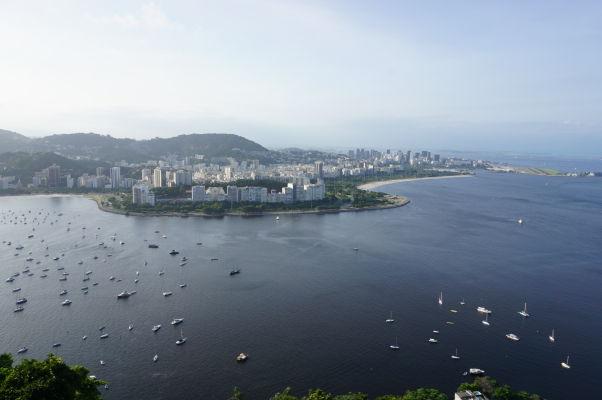 Pohľad na Rio de Janeiro z Morro da Urca