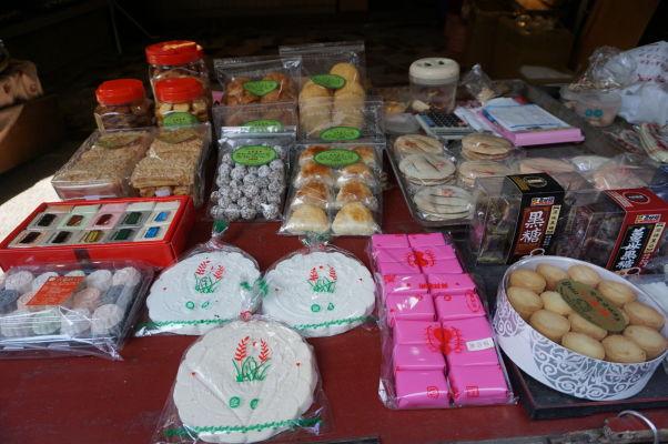 Historická štvrť Anping v Tchaj-nane - môžete tu ochutnať rôzne špecialitky
