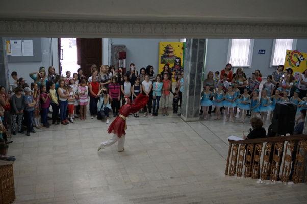 Národné múzeum histórie Moldavska - vystúpenie v rámci týždňa japonskej kultúry
