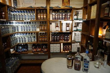 Rumová distilérka La Favorite - Predajňa