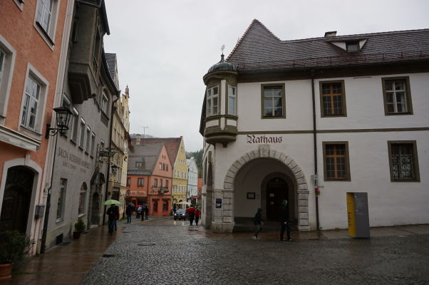 Radnica v bavorskom mestečku Füssen