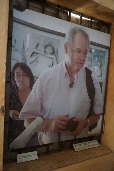 Gunnar Bergström na návšteve Kambodže 30 rokov po tom, čo priniesol správu o tom, ako dobre funguje štát pod správou Červených Kmérov