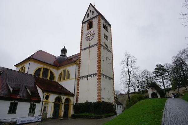 Bazilika sv. Magna v meste Füssen