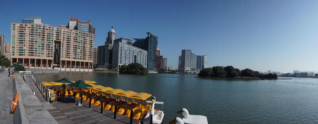 Jazero Nam Van v Macau
