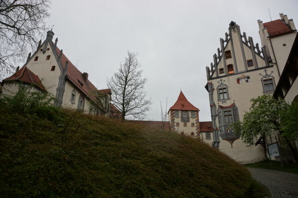Vysoký zámok (Hohes Schloss) v meste Füssen