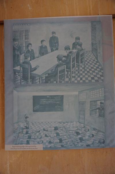 Stráže vo väzení Tuol Sleng hľadali niekoho, kto vie maľovať - Bou Meng sa prihlásil a zachránil si tým život