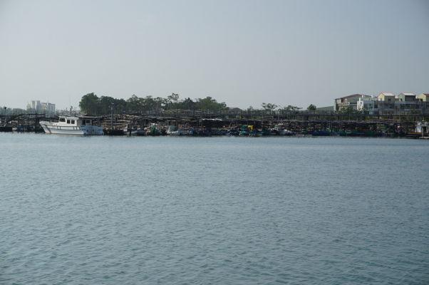 Historická štvrť Anping v Tchaj-nane - prístav Anping