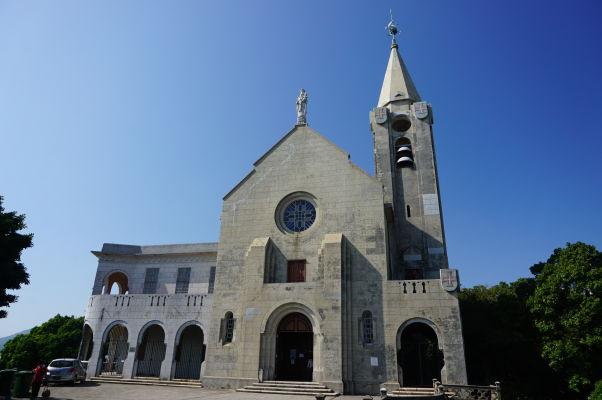 Kaplnka Matky Božej na hore Penha (Capela de Nossa Senhora da Penha) v Macau