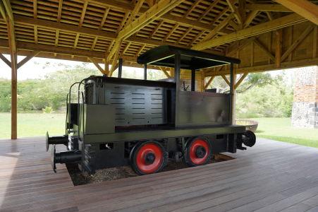 Maison de la Canne - Múzeum cukrovej trstiny v bývalom cukrovare - Pre prepravu nákladov sa používali i vlaky