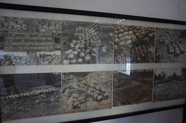Masové hroby, kde boli pochovávané obete teroru Červených Kmérov