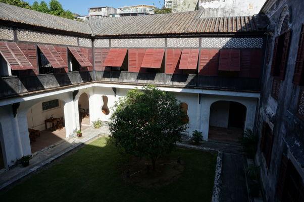 Jedno z nádvorí Mandarínovho domu v Macau