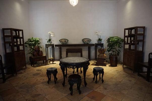 Dobový nábytok Mandarínovho domu v Macau