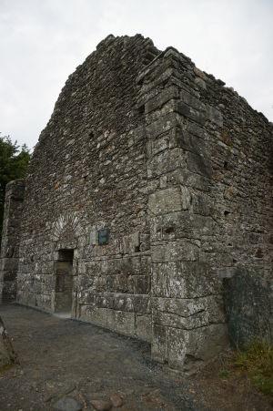 Zvyška Katedrály sv. Petra a Pavla v kláštore Glendalough