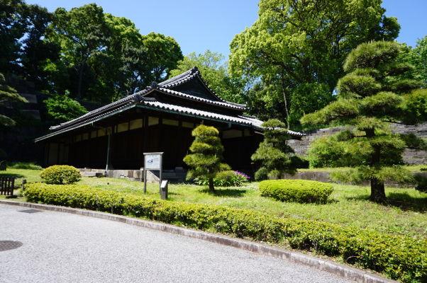 Cisársky palác v Tokiu - Óbanšó (Veľká strážnica) - slúžila ako posledné kontrolné miesto pred vstupom do samotnej citadely, v ktorej sídlil šógun